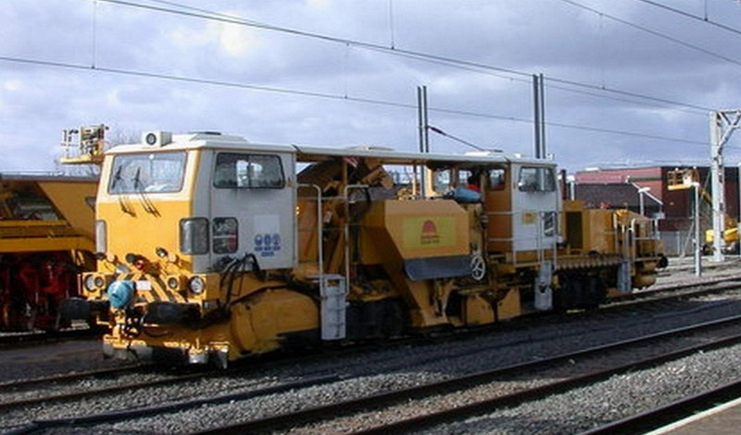 Repair of ballast regulator  Plasser & Theurer USP 5000C